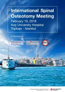 International Spinal Osteotomy Meeting-Istanbul-2018-Program